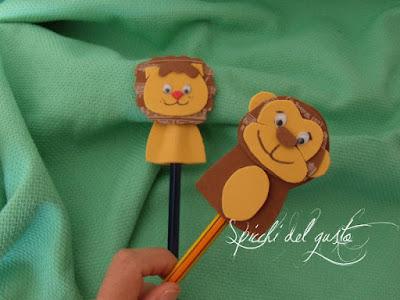 matita con animali per bambini