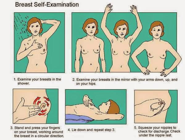 pemeriksaan sendiri payudara
