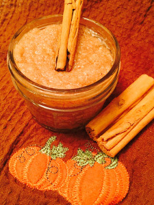 Pumpkin Sugar Scrub, DIY, Guest Post