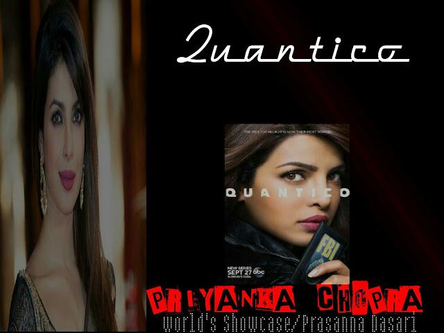 The HollyBolly Girl - Priyanka Chopra' s Quantico