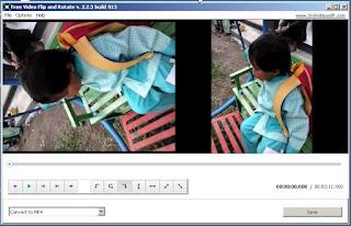 Video yang Terbalik atau Miring Bisa Diatur Poisisinya sesuai Keinginan dengan Aplikasi Free Video Flip and Rotate