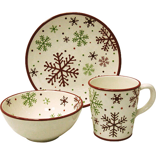 This And That Christmas Collectible Dinnerware