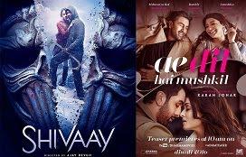 Shivaay vs Ae Dil Hai Mushkil | Ae Dil Hai Mushkil vs Shivaay | Shivaay vs adhm | adhm vs shivaay