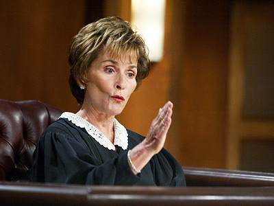 The K-Tizzle Sizzle - Judge Judy? Judge Katie More Like