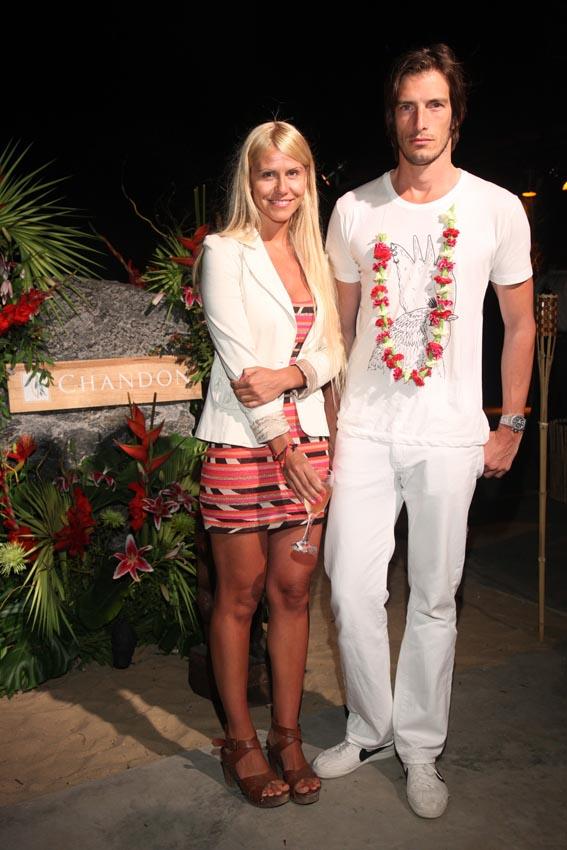 Vestidos blancos de fiesta hawaiana