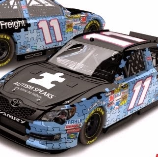 Autism Race Car