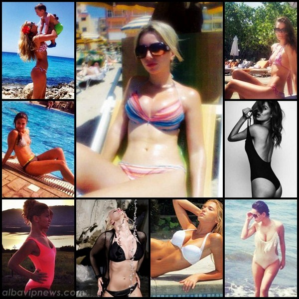 femrat vip ne bikini javen qe kaloi prezantuam pjesen e pare te ...