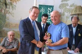 Andres Pastor ganador en Sherry Golf Circuito Andaluz de Pitch & Putt