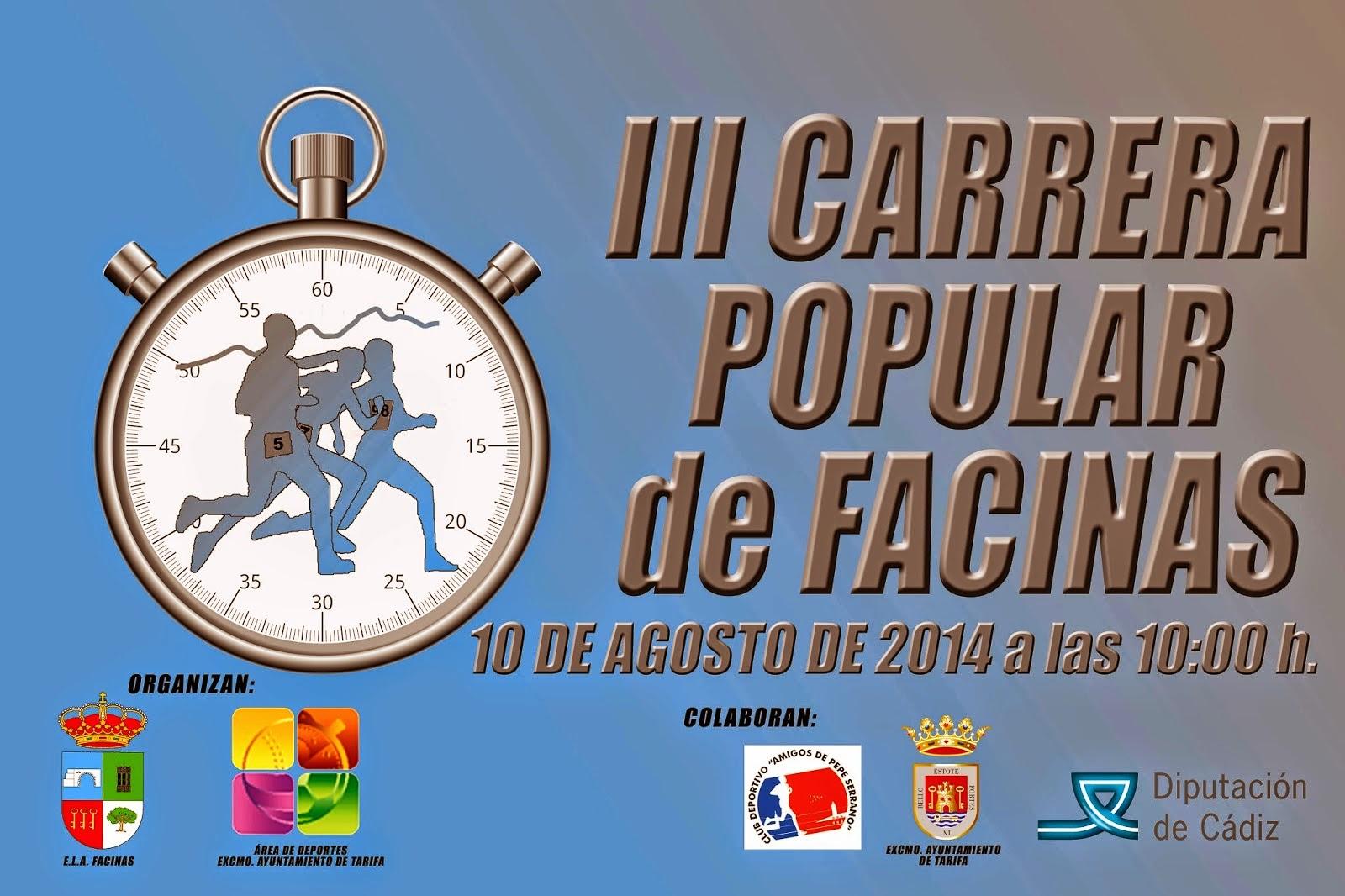 III CARRERA DE FACINAS