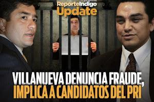 MARIO VILLANUEVA DESDE ÑLA CÁRCEL DENUNCIA FRAUDES EN QUINTANA ROO.