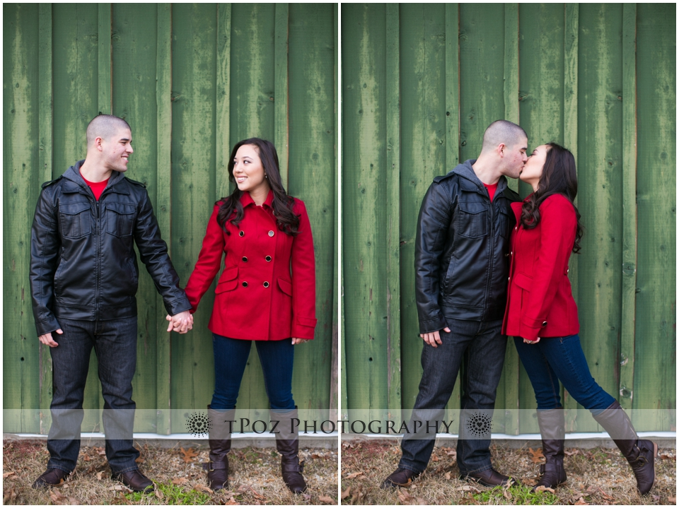 Kinder Farm Park Engagement Photos