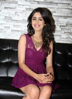 Actress jan Malra  Pictures in Short Dress at Badmashiyaan Press Meet  2.JPG