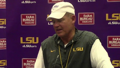 Les Miles visits hospital for precautionary reasons.