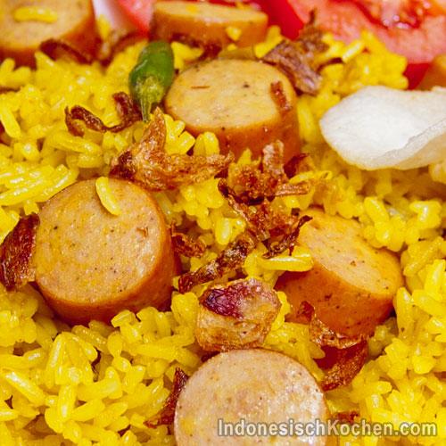 Nasi Goreng Kurkuma original indonesisch