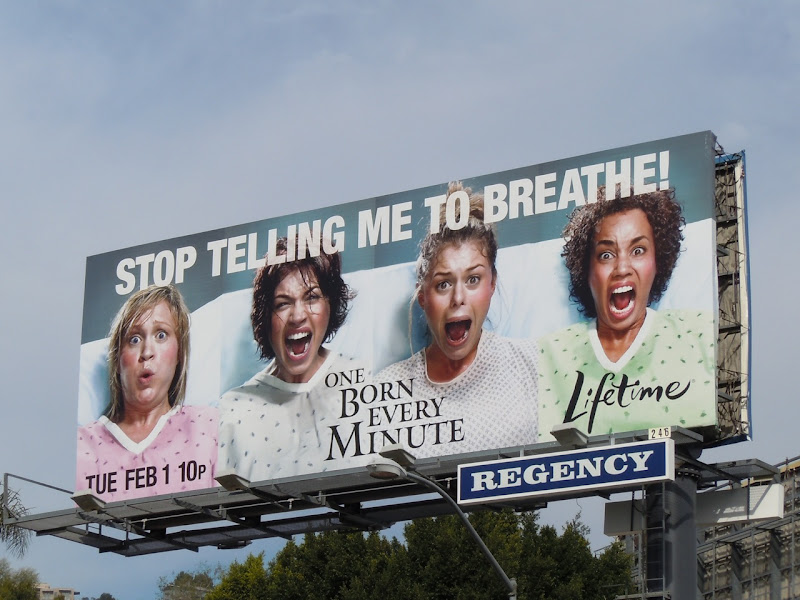 One Born Every Minute billboard