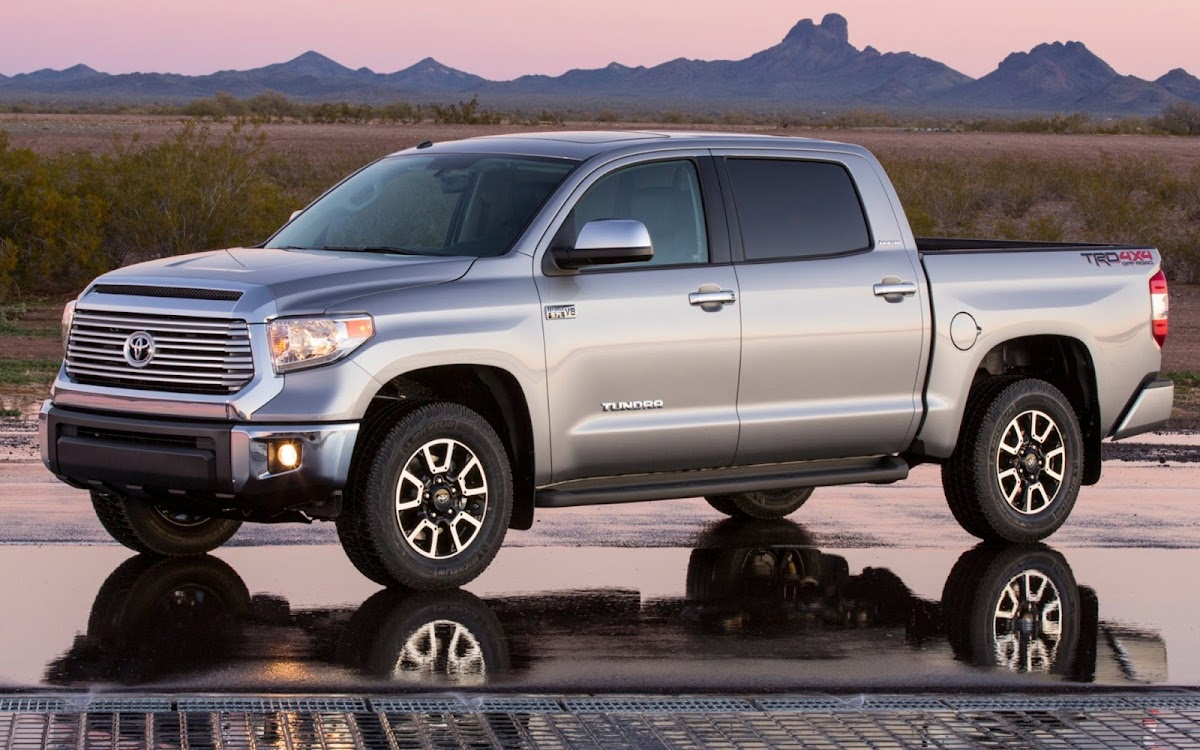 2014 Toyota Tundra Widescreen HD Wallpaper