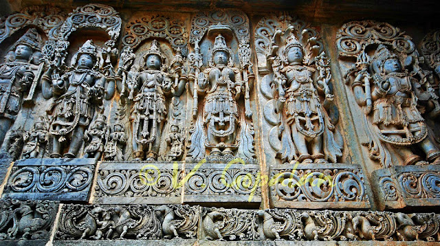 Halebeed Temple Art