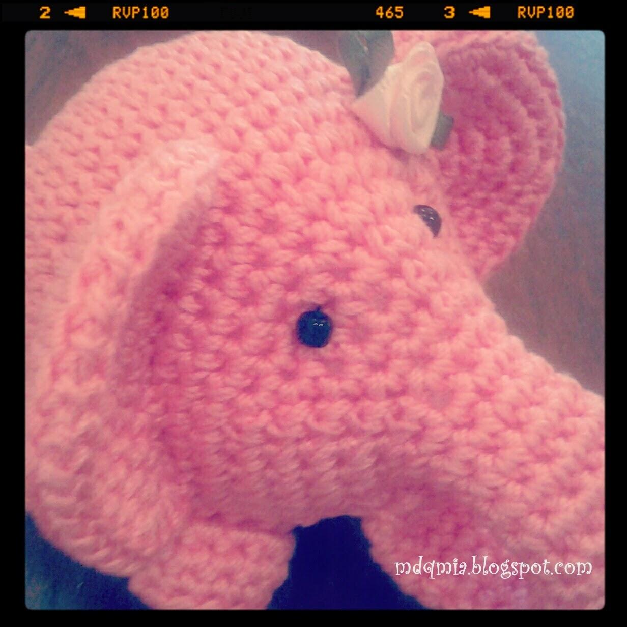 De aqu? y de alla ...: Amigurumi: Hoy elefante (Amigurumi ...