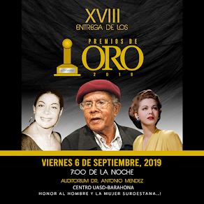 PREMIOS DE ORO BARAHONA 2019