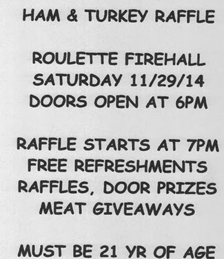 11-29 Ham & Turkey Raffle Roulette