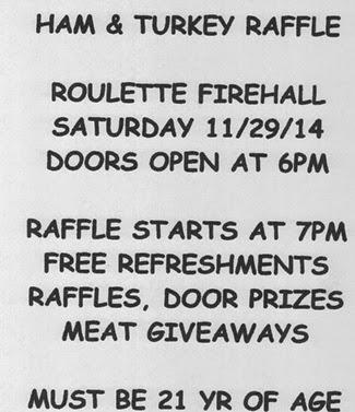 11-29 Ham & Turkey Raffle Roulette