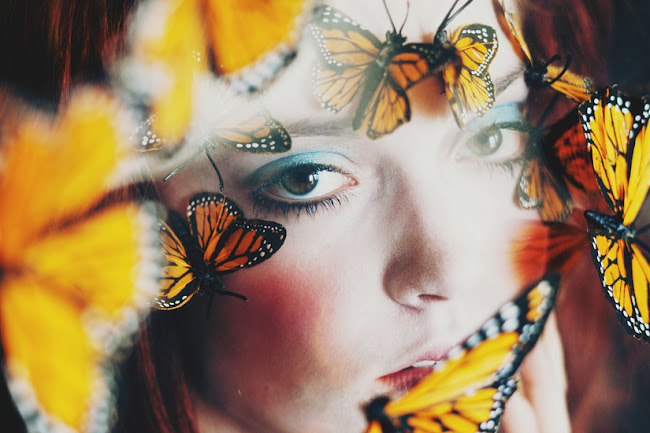 Ann he photography like a doll series butterflies, amazing photography, amazing images, beautiful photos