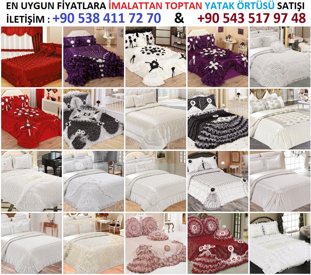 Yatak örtüsü imalatı yapan yerler en ucuz