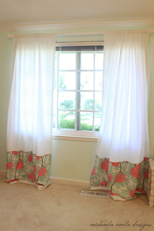 Bedroom curtains complete michaela noelle designs for Complete bedroom sets with curtains