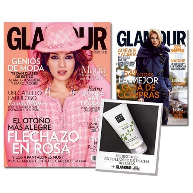 revista glamour octubre