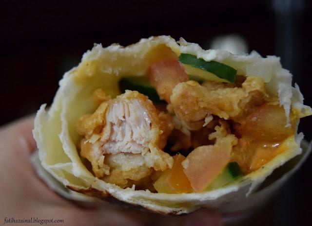 fatiha zainal , KFC Zinger Ayam Masak Merah