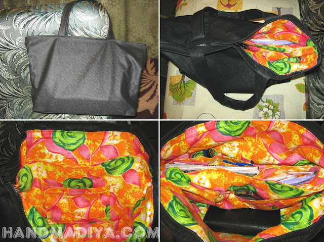 Шьём женскую сумочку ~ Sewing bags
