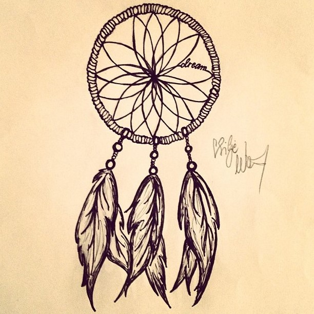 so it would seam henna design dreamcatcher