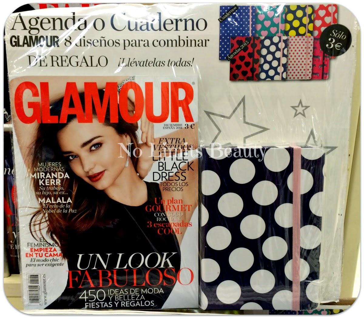 Regalos revistas Diciembre 2014: Glamour