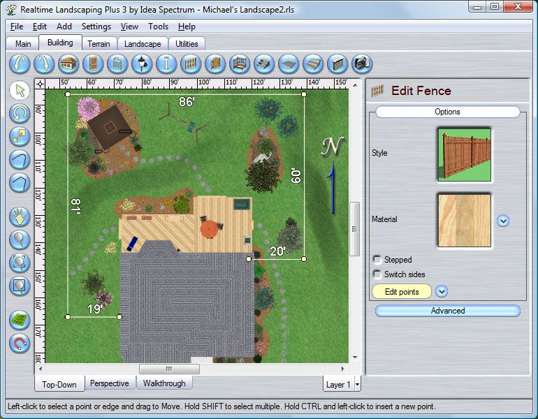 Expert building free landscape design software online for Online remodeling software