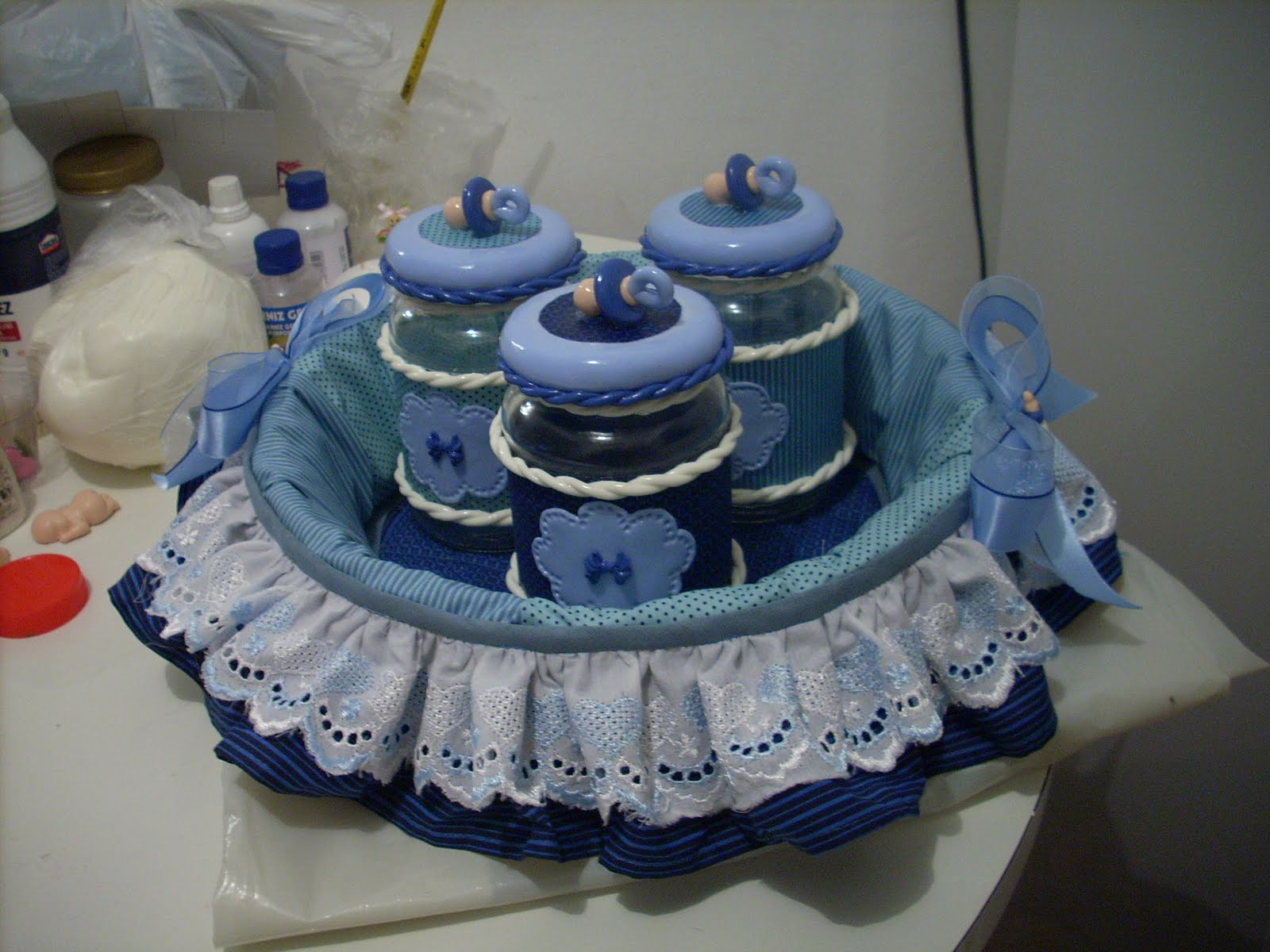 Lili Arte Cesta de bebê e lembrancinhas!