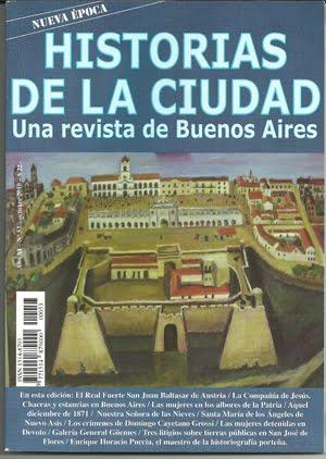 Revista HISTORIAS DE LA CIUDAD