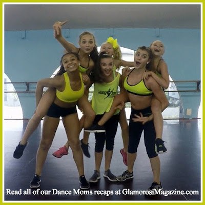 The cast of Lifetime TV's Dance Moms