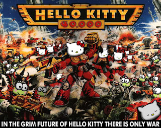 Hello Kitty Warhammer 40k cover