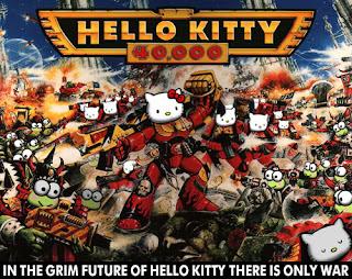 Hello Kitty Warhammer 40k cover