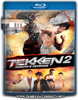 Tekken 2 – A Vingança de Kazuya Torrent - BluRay Rip 720p | 1080p Dublado 5.1