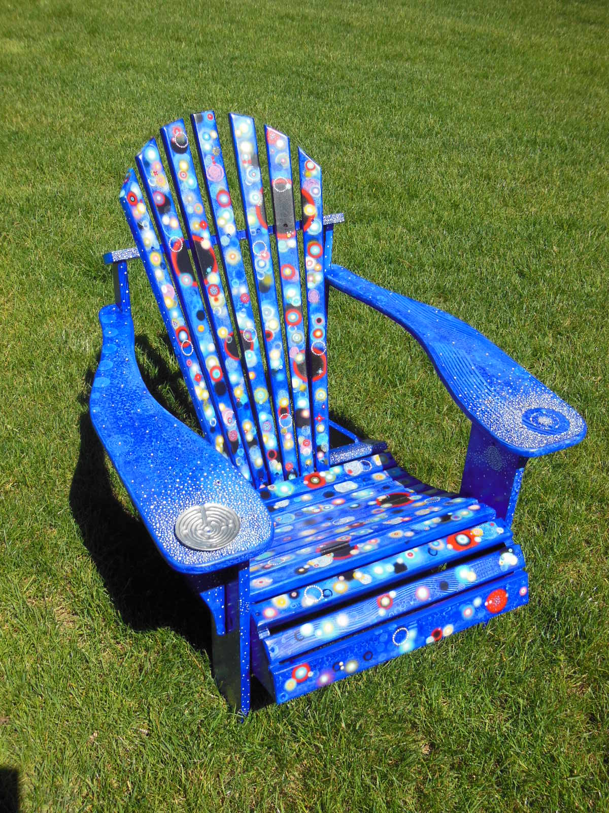 Adirondack Chair Painting - Viewing Gallery