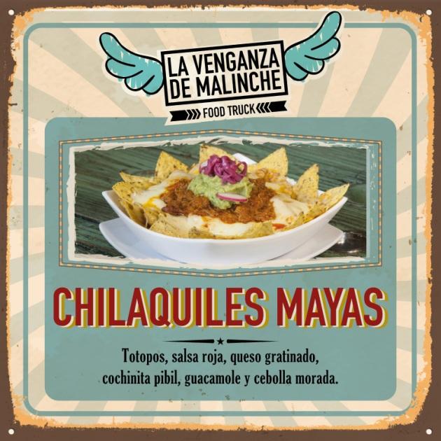 nachos mayas cocina mexicana