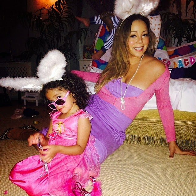 Mariah Carey coneja de pascua