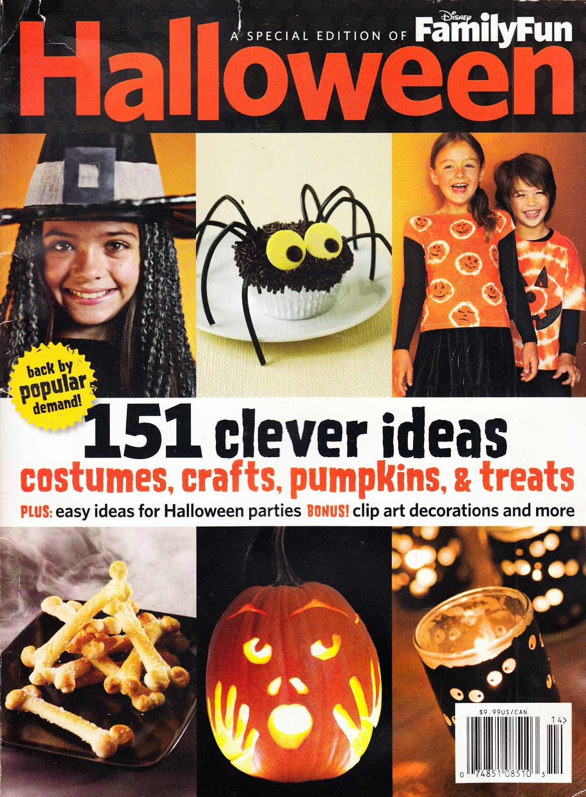 i like simple pumpkins and gourds here are some cute suggestions - Family Fun Magazine Halloween Crafts