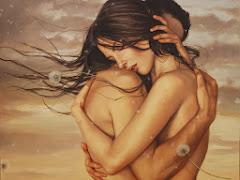 abrazo.