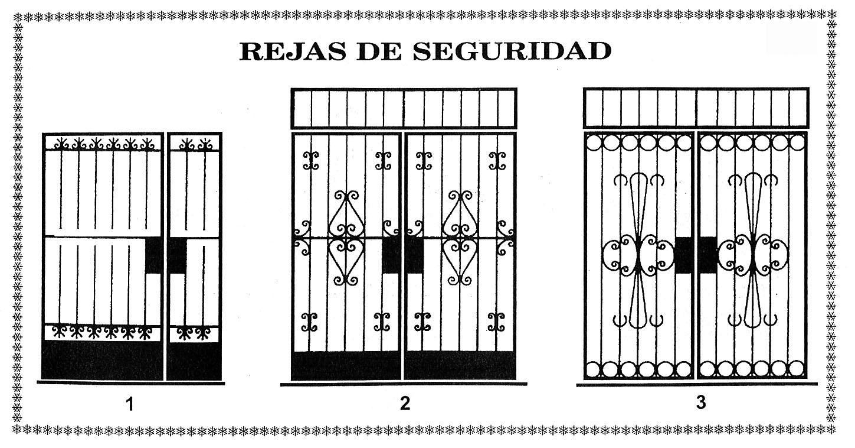 Herreria jose leon suarez for Diseno puertas hierro