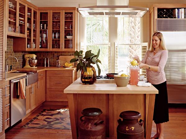 Houzzz Home Designs: Cottage Kitchens Luxury Designs 2013