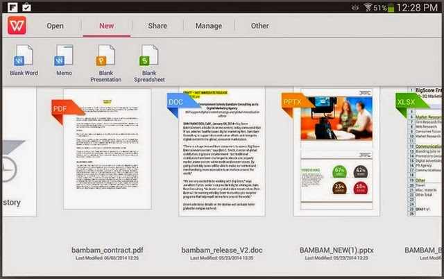 Aplikasi Office Android