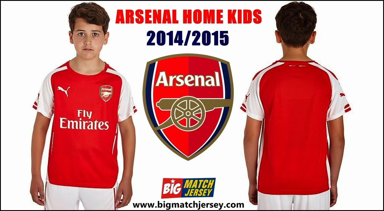 Puma Arsenal 2014 Junior Home Shirt
