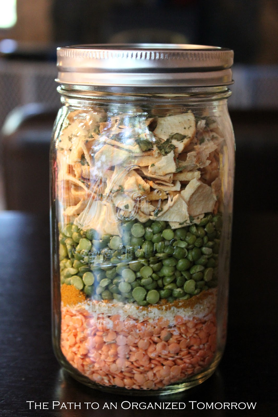 how to make dry soup mix in jars